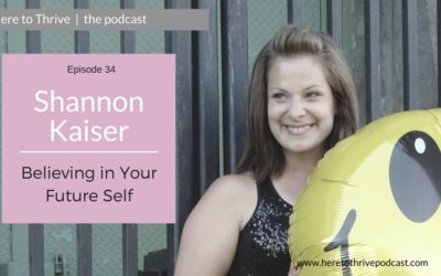 #34. Shannon Kaiser – Believing in Your Future Self: Reclaim Your Power & Trust Yourself
